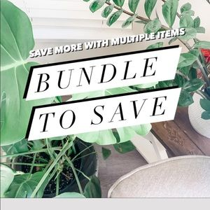 BUNDLE  FOR MORE SAVINGS 💫